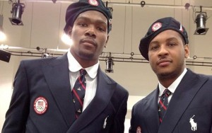 Kevin Durant & Carmelo Anthony