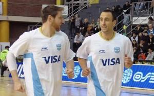 Andrés Nocioni & Manu Ginóbili