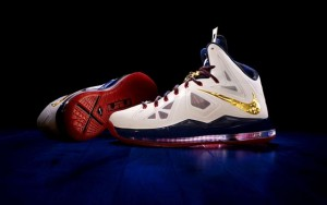 "Nike LeBron 10 ""Gold Medal"""