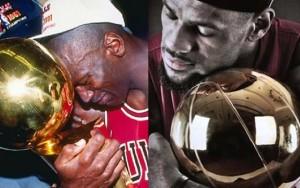 Michael Jordan & LeBron James