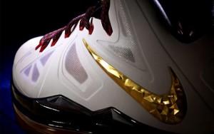 Nike LeBron X Gold Medal
