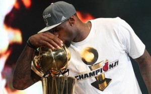 """LeBron James """"The Right Decision"""""""