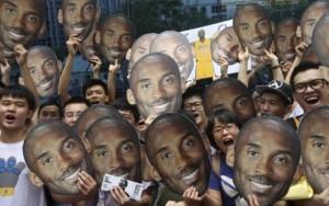 Kobe Bryant en China