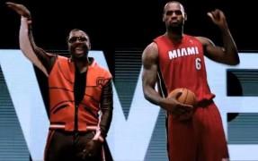 Will I Am con LeBron James
